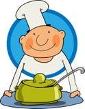 El cocinero Fotos de archivo