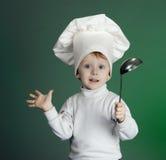 El cocinero alegre Fotografía de archivo