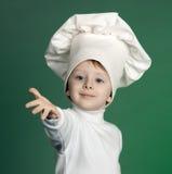 El cocinero alegre Imagenes de archivo