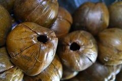 El coco secado Fotos de archivo