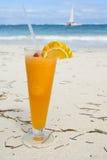 El coctel de la playa Foto de archivo libre de regalías