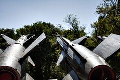 El cohete se dirige el cielo Fotos de archivo libres de regalías