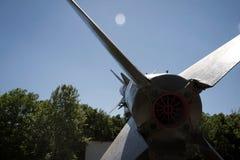 El cohete se dirige el cielo Fotografía de archivo libre de regalías