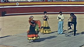 EL Coliseo De San Rafael banque de vidéos