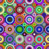 El color abstracto figura el modelo inconsútil foto de archivo