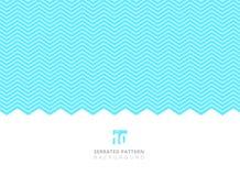 El color blanco abstracto serró las líneas modelo en el fondo azul w Imágenes de archivo libres de regalías