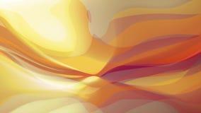 El color brillante abstracto que agita suave que pinta el movimiento dinámico del arte del flujo de la animación calidad apacible stock de ilustración