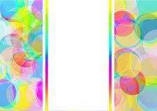 El color burbujea fondo Stock de ilustración