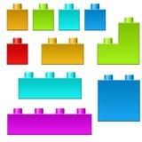 El color conecta Foto de archivo libre de regalías