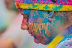 El color corre en Praga, República Checa Fotos de archivo libres de regalías