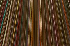 El color de la ejecución rosca el fondo Foto de archivo libre de regalías