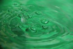 El color del agua Foto de archivo libre de regalías