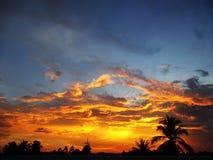 El color del cielo Imágenes de archivo libres de regalías