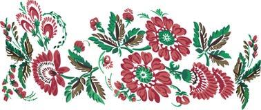 El color florece el ornamento Fotos de archivo