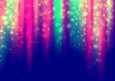 El color que brilla intensamente enciende el fondo Fotos de archivo libres de regalías
