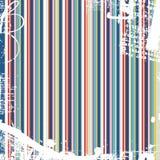 El color raya el grunge Fotos de archivo