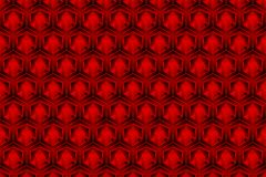 el color rojo de la caja 3d es un modelo como fondo abstracto ilustración del vector