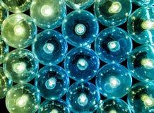 el color tungstaen el tubo de la lámpara Imágenes de archivo libres de regalías