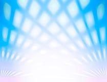 El color y la falta de definición azules ven el fondo abstracto con la línea efecto Imagen de archivo