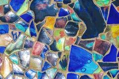 El colorido rota de cerámica del piso Fotografía de archivo libre de regalías
