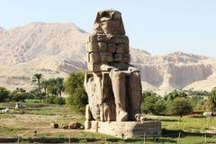 el coloso de Memnon Imagenes de archivo