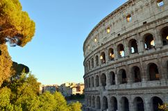 El Colosseum de Roma Imagen de archivo