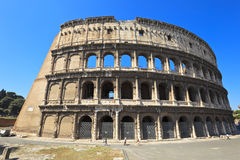 El Colosseum en Roma, Italia Foto de archivo