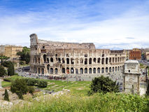 El Colosseum en Roma, Italia