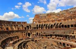 El Colosseum en Roma, Italia Imágenes de archivo libres de regalías