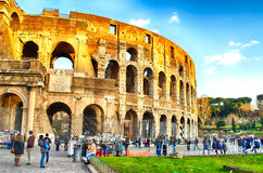 El Colosseum, Roma Imagen de archivo