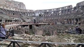 El colosseum romano almacen de metraje de vídeo