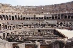 El Colosseum y el foro Fotografía de archivo libre de regalías