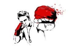 El combatiente libre illustration