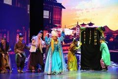 El comerciante del  Arabia-grande del show†de los escenarios de la escala el  del legend†del camino Imágenes de archivo libres de regalías