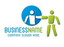 El comercio justo del logotipo, viene junto stock de ilustración