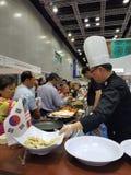 El comercio justo internacional malasio de la comida y de la bebida en KLCC Fotografía de archivo