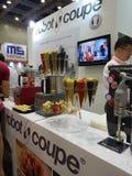 El comercio justo internacional malasio de la comida y de la bebida en KLCC Fotografía de archivo libre de regalías