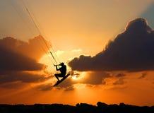 el Cometa-practicar surf Fotografía de archivo