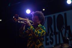 EL Comite, Kuba Kriol Jazz Festival stockbilder