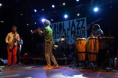 EL Comite, Kuba Kriol Jazz Festival lizenzfreies stockbild