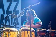 EL Comite, Kuba Kriol Jazz Festival stockfotos