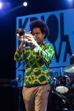 EL Comite, Kuba Kriol Jazz Festival lizenzfreie stockfotos