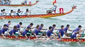 El competir con de barco de dragón Fotos de archivo libres de regalías