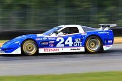 El competir con de Chevrolet Corvette Fotografía de archivo