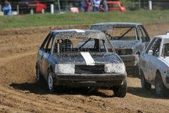 El competir con de coche común Fotografía de archivo