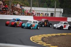 El competir con de coche de la leyenda Imagen de archivo libre de regalías