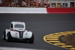 El competir con de coche de la leyenda Imágenes de archivo libres de regalías