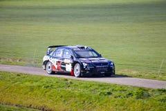 El competir con de coche de la reunión Imagen de archivo