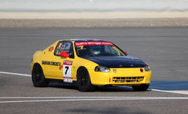 El competir con de Honda CRX Imagen de archivo libre de regalías