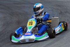 El competir con de Kart Fotos de archivo